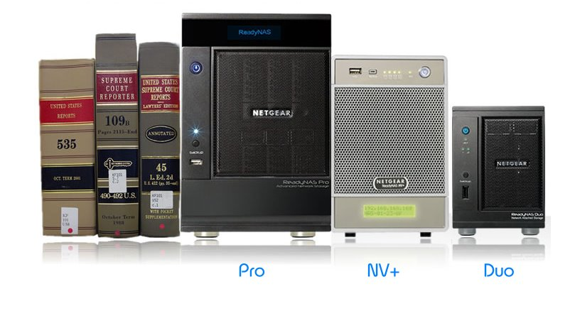 ReadyNAS Pro NV+ and Duo