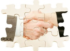 IT Consulting handshake